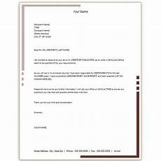 Microsoft Word Formal Letter Template Free Microsoft Word Cover Letter Templates Letterhead And