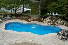 Pool Designs And Cost Beautiful Inground Pools Wonderful
