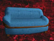 Blue Sofa Set 3d Image by Blue Sofa And Loveseat 3d Model 3d Studio 3ds Max Dxf