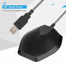 Capacitive Intelligent Noise Reduction Microphone by Protable Usb Microphone Capacitive 360 Degree Sound