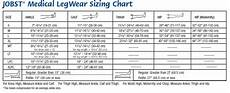 Jobst Compression Measuring Chart Jobst Ultrasheer 15 20 Open Toe Knee High Compression