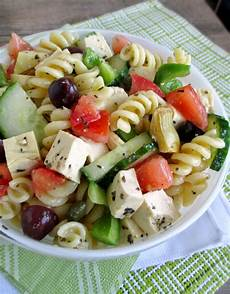 Salad With Pasta Vanilla Spice Pasta Salad With Tofu Feta