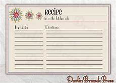 recipe cards with template free editable recipe card templates for microsoft word