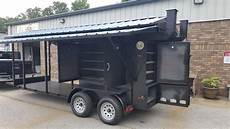 Outside Lighting For Mobile Food Truck Enclosed Bbq Smoker Grill Concession Trailer Mobile