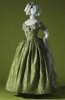 tenue vintage evening dress c 1845 kci historical dresses vintage