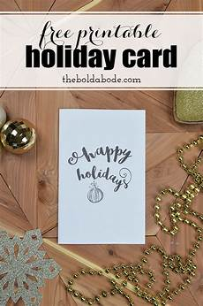 Free Downloadable Greeting Cards Printing The Holidays Free Printable Holiday Greeting Card