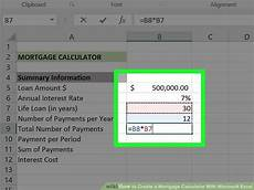 How To Calculate Mortgage Payment In Excel 3 Ways To Create A Mortgage Calculator With Microsoft Excel