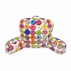 picture of assorted donuts lounge pillow lounge pillows
