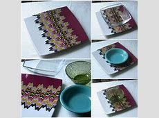 Missoni Dinnerware Table Setting   Colorful Ideas