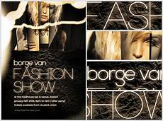 Fashion Show Flyers Fashion Show Flyer Template Flyerheroes