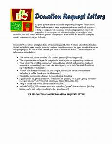 Request For Contribution Letter Sample Sample Letter Requesting Donations For Church Sample