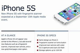 Image result for iPhone 5S Specs Size