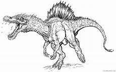 jurassic park coloring pages spinosaurus coloring4free