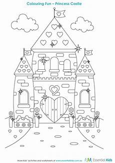 Malvorlagen Prinzessin Schloss Boredom Busters Colouring In The Daily Advertiser