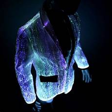 Led Lights To Wear Light Up Burning Man Clothing Led Fiber Optic By