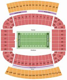 Auburn University Football Stadium Seating Chart Auburn Tigers Tickets Seating Chart Jordan Hare