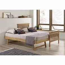 oxford single guest bed in pine trundle bed included