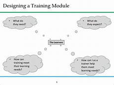 Training Module How To Prepare A Basic Training Module
