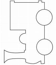 Train Stencil Printable Train Pattern Use The Printable Outline For Crafts