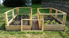 how to make a removable raised garden bed fence the garden