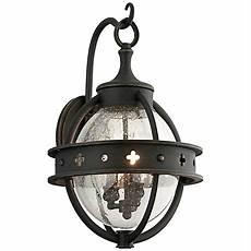 Black Iron Outdoor Lights Bransford 19 Quot High Black Iron Outdoor Wall Light 8m881
