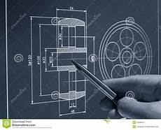 Autocad Designers Cad Design Stock Image Image Of Built Contractor Frame