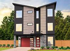 Home Design Story 3 Story Modern House Plan With Two Master Suites 85292ms