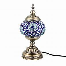 Turkish Lamp Light Bulb Size Kindgoo Turkish Lamp Mosaic Table Lamp Handmade