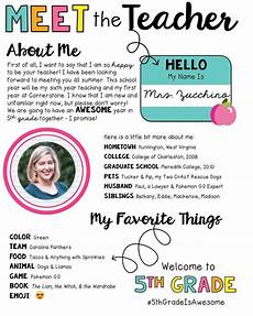 Teacher Style Profile Builder Update It S Posted Working On My Quot Meet The Teacher
