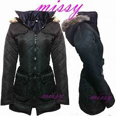 black coat jacket quilted hooded school clothing age