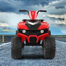 Scooter With Music And Light Instructions 12v Kid Ride On Atv 4 Wheels Electric Powered Car Toy W