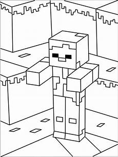 printable minecraft coloring page minecraft