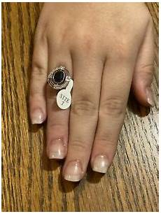Fragrant Jewels Ring Size Chart Fragrant Jewels Ring Navy Blue Size 7 Ebay