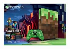 minecraft xbox one s limited edition console will join
