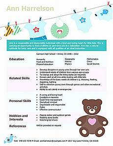 Baby Sitter Part Time Babysitter Resume Is Going To Help Anyone Who Is