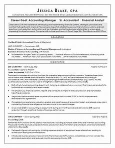 Entry Level Cpa Resumes Cpa Resume Sample Monster Com
