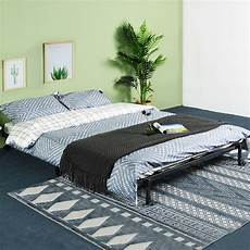 4ft6 metal fold up bed guest visitor compact