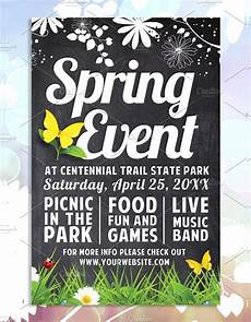 Spring Event Flyer Template 35 Spring Flyer Templates Free Amp Premium Download