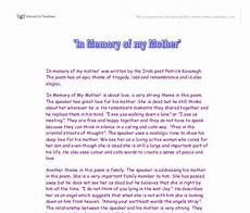 Mother Essays In Memory Of My Mother Gcse English Marked By