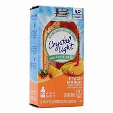 Crystal Light Energy Peach Mango 상품 상세보기 Crystal Light 크리스탈라이트 온더고 에너지 피치망고 10 패킷