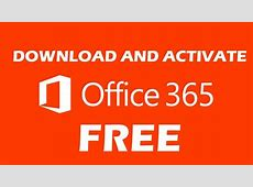 How to Download Install and Activate Office 365 free 2020