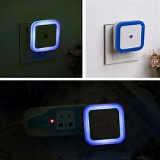 Control Your Room Lights With Your Mobile Square Auto Led Night Light Induction Sensor Control
