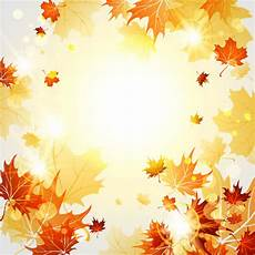 Autumn Powerpoint Background Bright Autumn Leaves Vector Backgrounds 06 Free Download