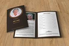 Memorial Pamphlet Template Free Funeral Program Template T130 Brochure Templates