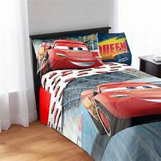 Disney Cars Bedroom Set Disney Cars Sheet Set Kid S Bedding Walmart
