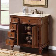 36 quot single bathroom vanity cherry