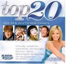 Top 20 Aus Den Deutschen Charts 1 2008 Cd 2007