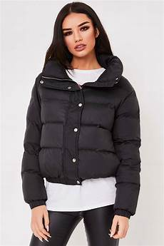 puffer coats charline black puffer jacket