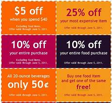 Free Lunch Coupon Template Free Coupon Templates Word Editable Printable