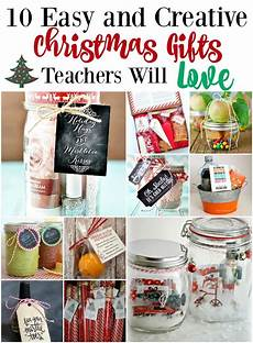 10 easy and creative gifts teachers will